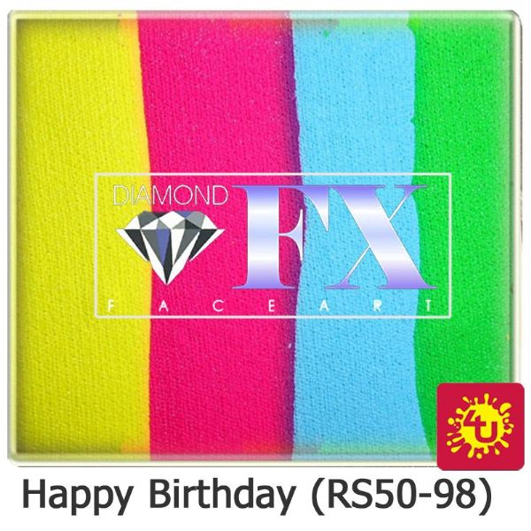 DFX 50g Split Cake ~ Happy Birthday (RS50-98)